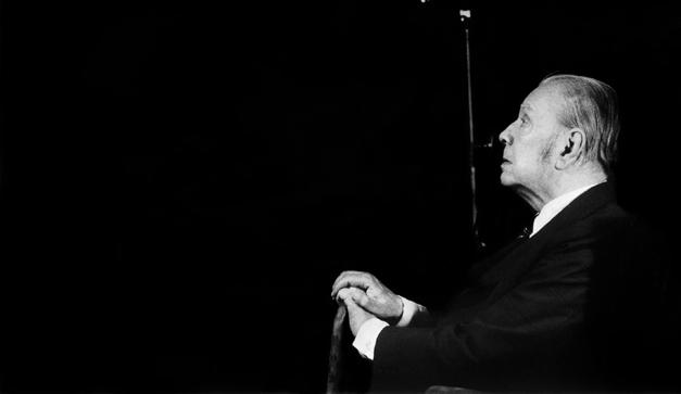 Jorge Luis Borges retratado en Buenos Aires en 1978. Utilizaci-n libr